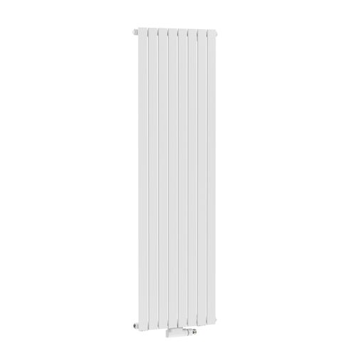 Radiateur design Henrad Verona vertical blanc pur 53,8x200cm
