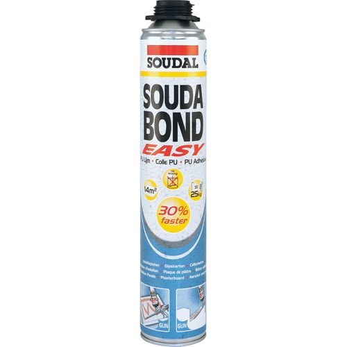 Mousse-colle PU Soudabond Easy 750ml pistolable