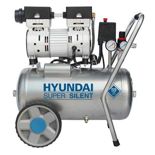 Compresseur sans huile Hyundai 24L