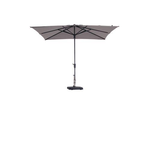 Madison parasol Syros Topline taupe 280x280cm