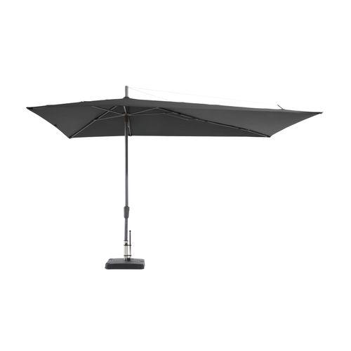 Madison parasol Topline Asymmetric Sideway grijs 220x360cm