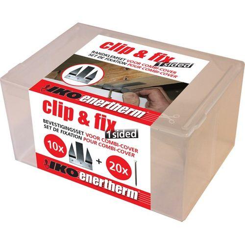 Kit de fixation isolation Iko Clip&Fix 10pcs