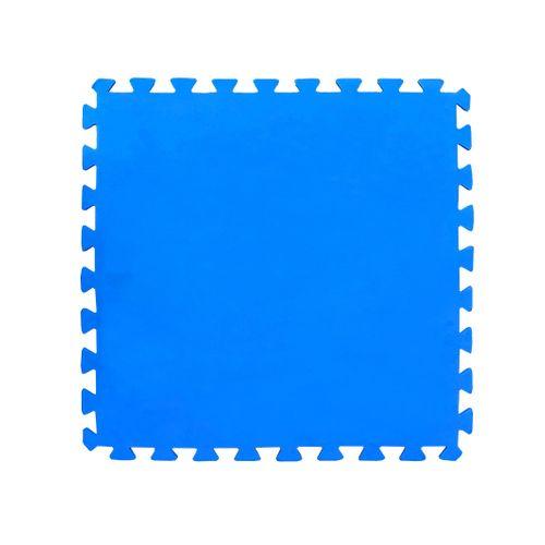 Protection de sol pour piscine Didak Pool bleu lisse 50x50cm