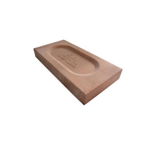 Brique réfractaire 22x11x3cm brune 928pcs + palette 5696730