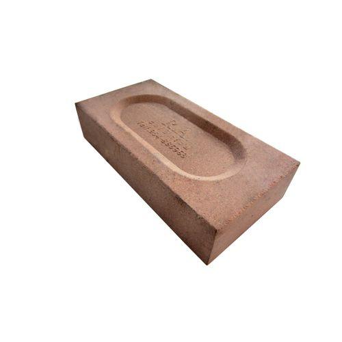 Brique réfractaire 22x11x5cm brune 576pcs + palette 5696730