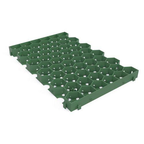 Dalle gazon Greenplac PE vert 60x39x4cm 104pcs + palette 5696730