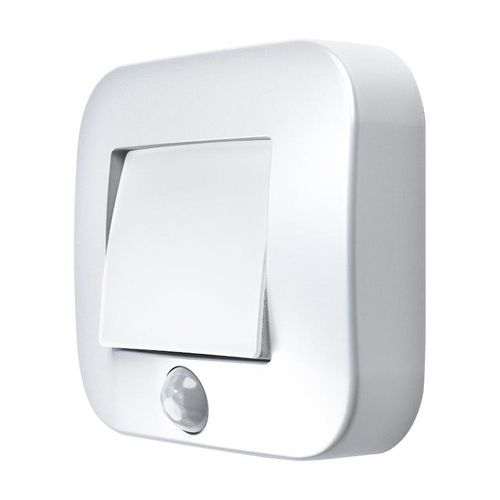 LEDVANCE NIGHTLUX® Hall LED nachtlamp met bewegingsmelder vierkant wit