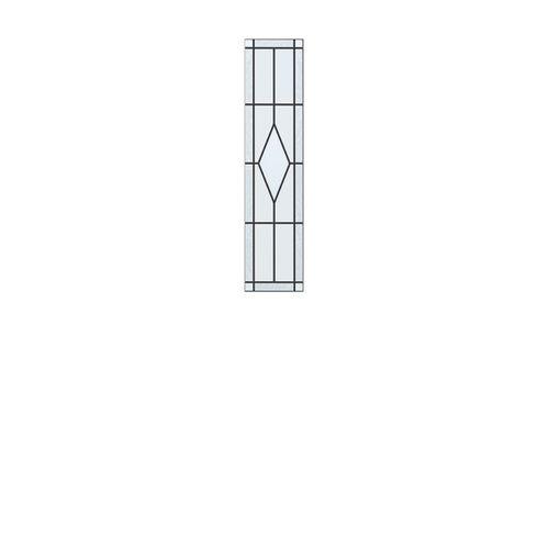 CanDo isolatieglas glas-in-lood Arrow voor ML 850 83x211cm