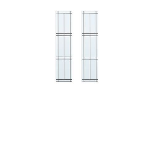 CanDo isolatieglas glas-in-lood 22-ruits voor ML 93x201cm