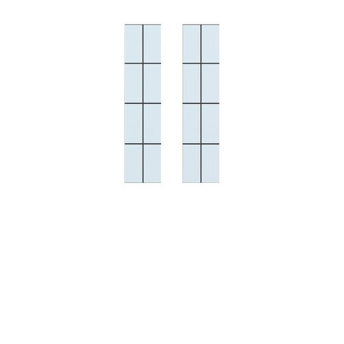 CanDo isolatieglas glas-in-lood 8-ruits voor ML 865 83x201cm
