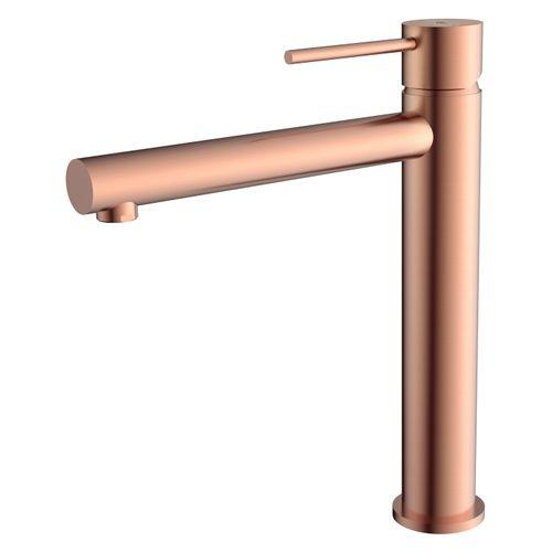 Mitigeur lavabo Essebagno Luisa haut cuivre