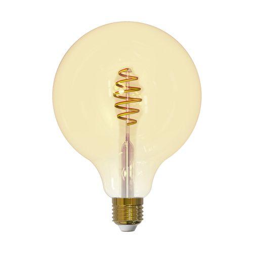Ampoule LED bulbe EGLO Connect ambre E27 G125 5,5W