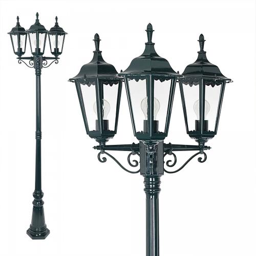 KS verlichting lantaarn Ancona 3xE27