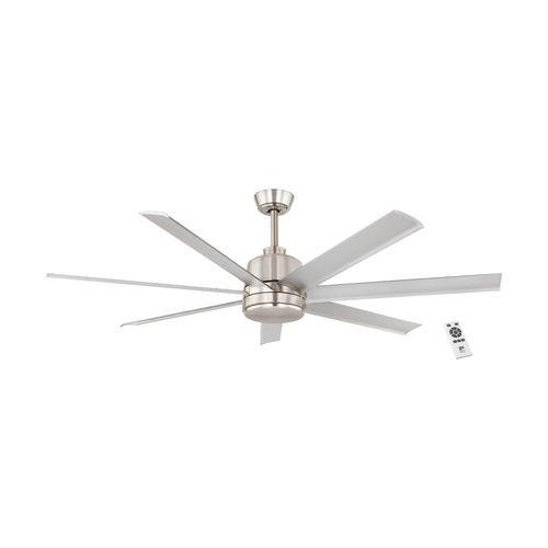 EGLO ventilateur de plafond Azar matt nickel
