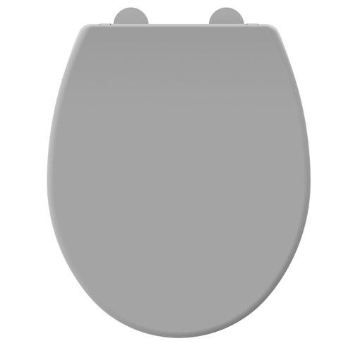 Allibert toiletzitting Dolceo thermoplast grijs mat