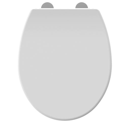 Allibert toiletzitting Dolceo thermoplast wit mat