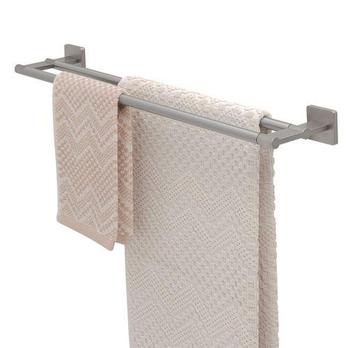 Tiger handdoekrek Dock dubbel RVS geborsteld