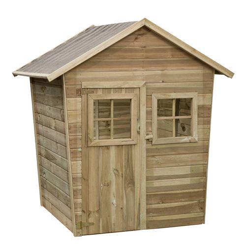 Maisonnette en bois SwingKing Quinten 108x108x145cm