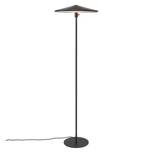 Nordlux vloerlamp LED Balance zwart 17,5W