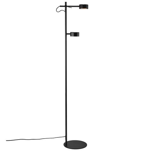 Nordlux vloerlamp LED Clyde zwart 2x5W