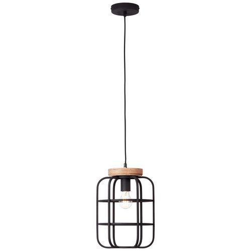 Brilliant hanglamp Gwen zwart E27
