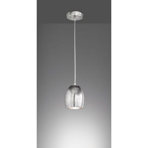 Fischer & Honsel hanglamp Cannet zilver E27
