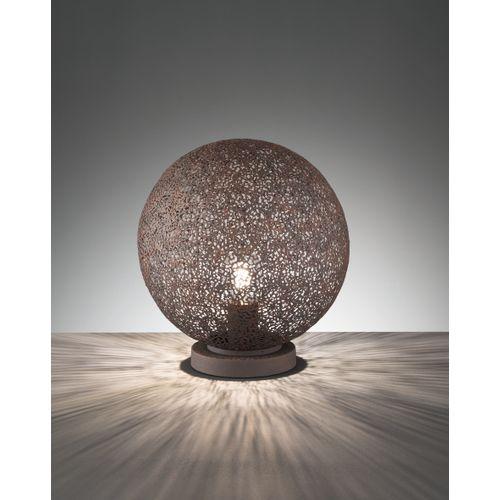 Lampe à poser Fischer & Honsel Willo marron E27