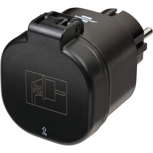 Brennenstuhl connect WiFi-schakeladapter zwart