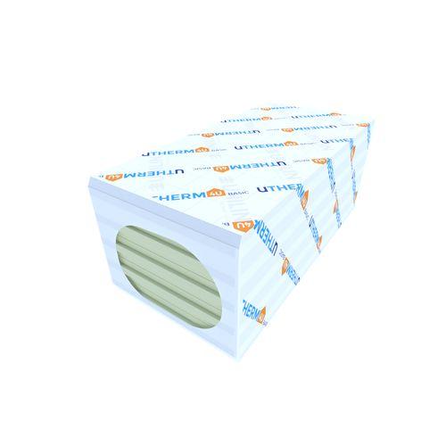 Panneau d'isolation Utherm4u pir 1200x600x100mm T&M 5pcs/paquet