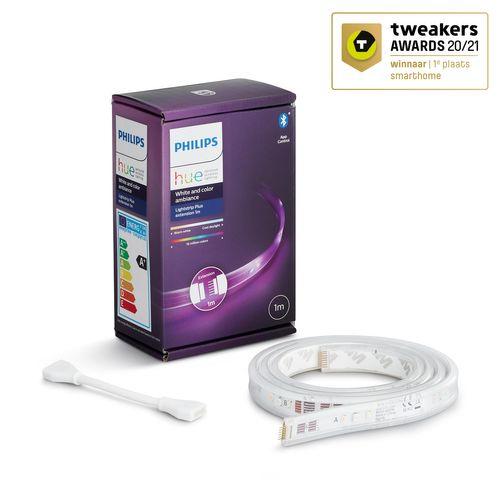 Philips Hue lightstrip wit en gekleurd licht 1m uitbreiding