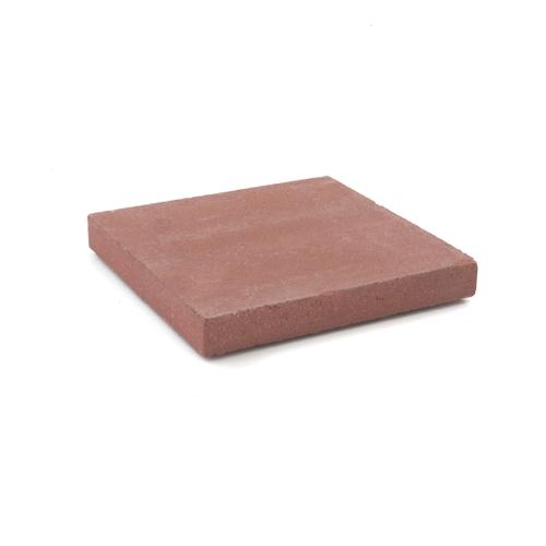 Dalle béton Coeck 30x30x4cm rouge 108pcs + palette 3004837
