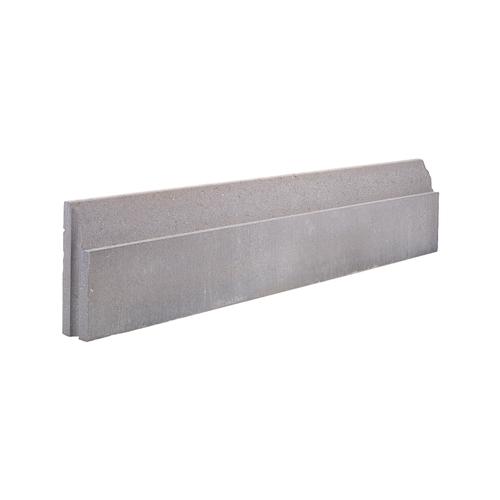 Bordure bord aminci Coeck 100x20x6cm gris T&M 51pcs + palette 3004837