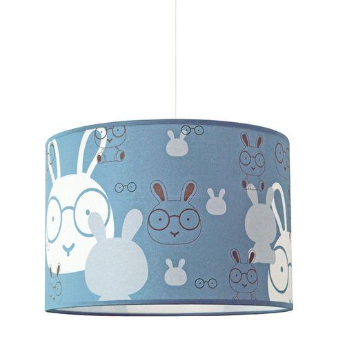 Seynave hanglamp Bunny blauw E27