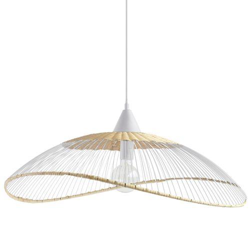 Seynave hanglamp Kasteli wit E27