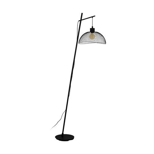 EGLO vloerlamp Pompeya zwart E14
