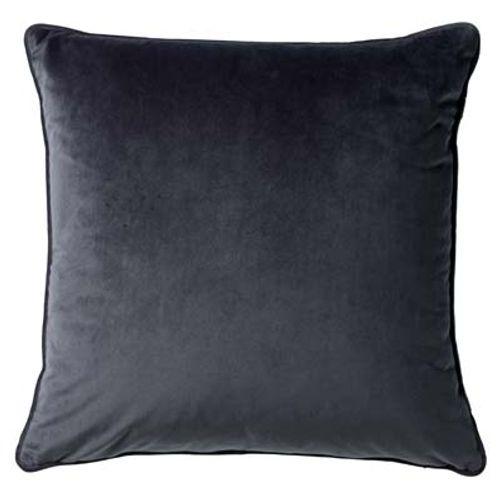 Coussin soft 45x45cm gris foncé