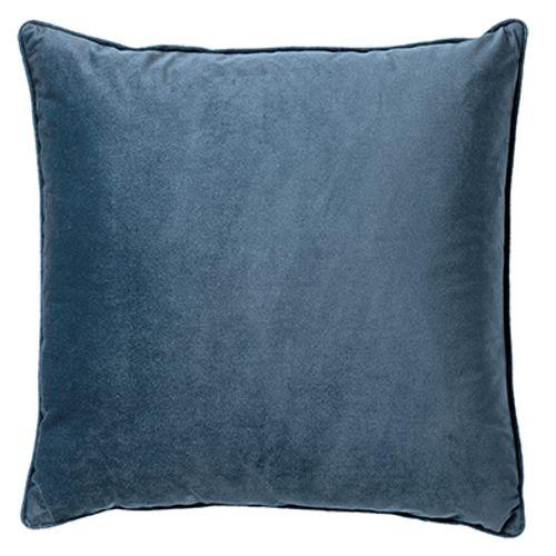 Coussin Soft 45x45cm bleu foncé