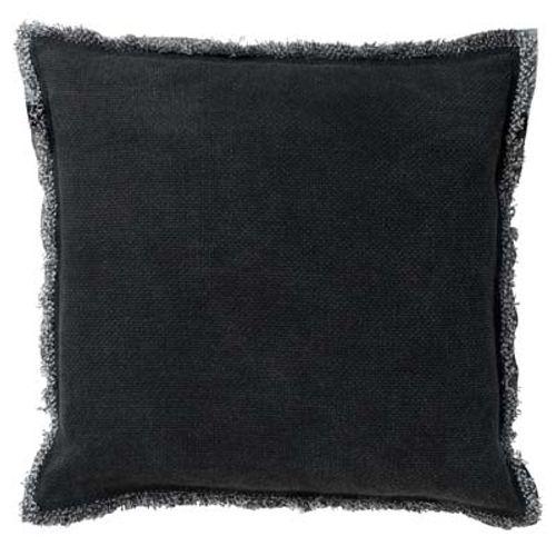 Coussin Bruni 45x45cm noir