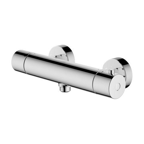 AquaVive thermostatische douchemengkraan Junin 150mm chroom
