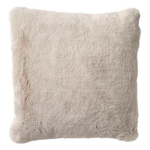 Coussin Teddy 45x45cm sable