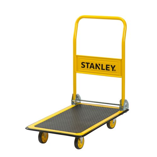 Chariot plate-forme Stanley PC527 150kg pliable jaune