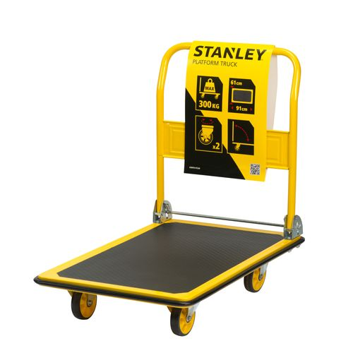 Chariot plate forme Stanley PC528 300kg jaune