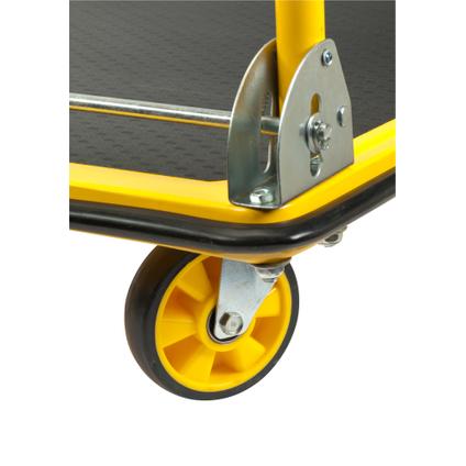 Stanley plateauwagen PC528 300kg geel