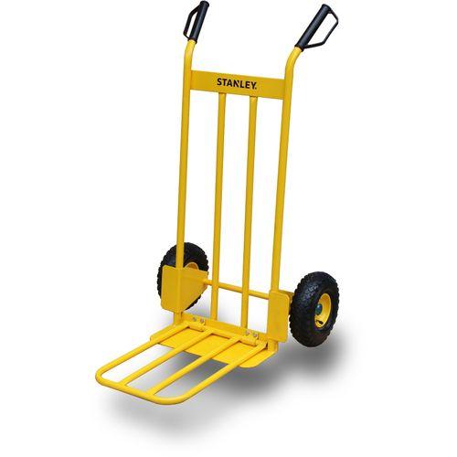 Stanley inklapbare steekwagen HT535 200kg geel