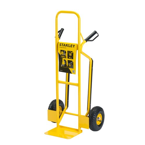Stanley HT524 stalen steekwagen 250kg geel