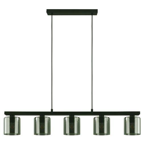 EGLO hanglamp Cadley zwart 5xE27