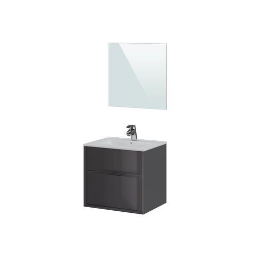 T-Bath badmeubelset Aqua 60cm grijs mat