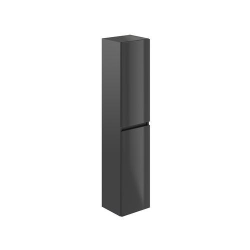 T-Bath kolomkast Milenio-Pacific 140cm grijs glanzend