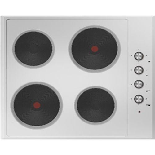 Table de cuisson électrique 4 foyers Electrum PS6040EX inox 60cm