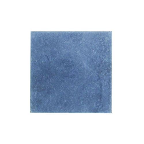 Dalle de terrasse Coeck Bluestone Vietnam scié pierre bleue 20x20x2,5cm